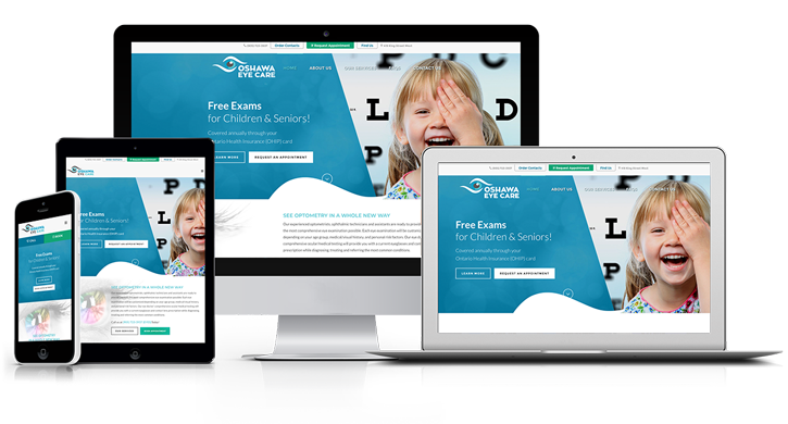 Oshawa Eye Care - Website by Attik