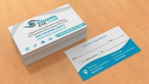 Oshawa Eye Care - cards
